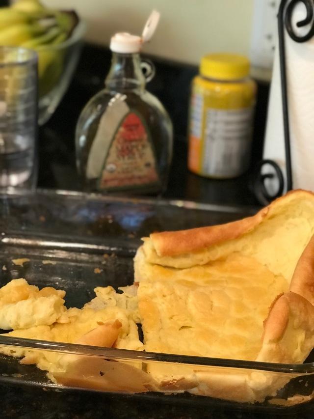 Puff pancake 1